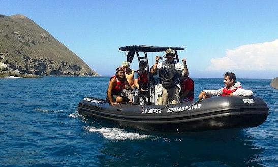 'la Negra' Boat Diving Island Trips In Rosarito