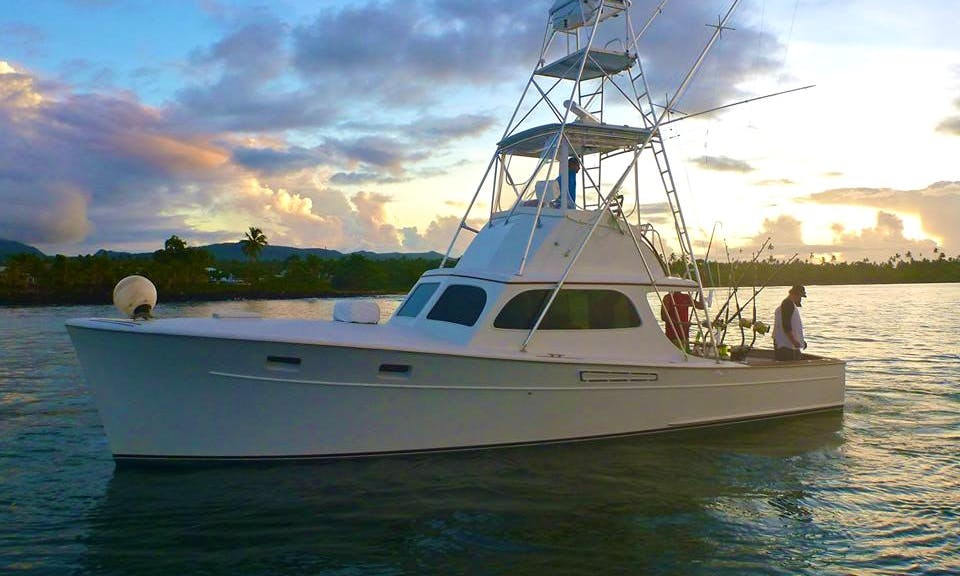 Boat Sport Fishing Charter 'Leilani'  in Samoa