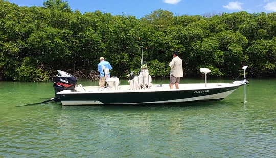 Enjoy Fishing On 22' Pathfinder Center Console In Naples, Florida