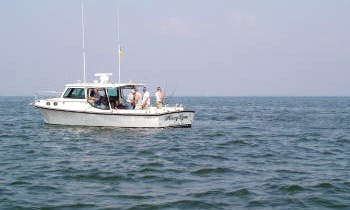 35' Charter Fishing Boat from Edgewater
