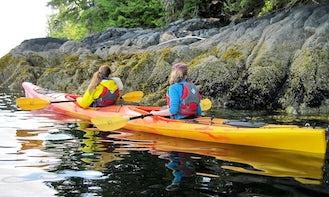 Rent a Tandem Kayak in Maupin, Oregon
