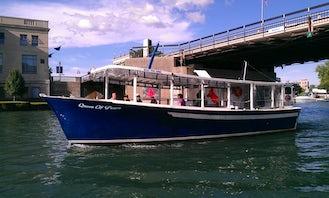42' Passenger Boat Rental in North Tonawanda