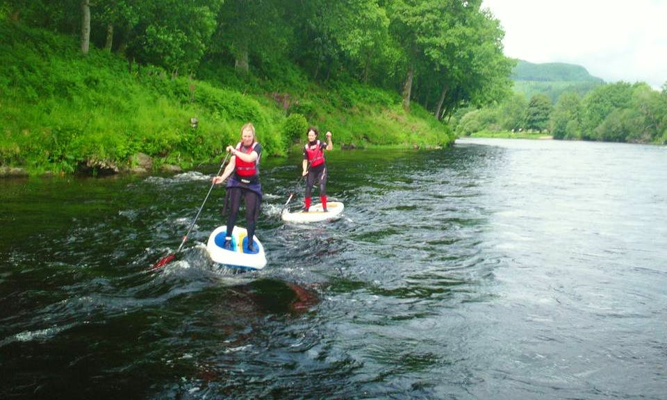 Stand Up Paddleboard Hire & Lessons in Birnam