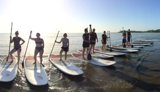 Memorable Stand Up Paddle Boarding Adventure In Sandgate, Australia