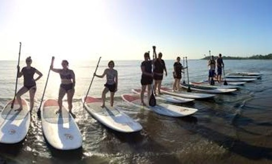 Memorable Stand Up Paddle Boarding Adventure In Sandgate, Australia