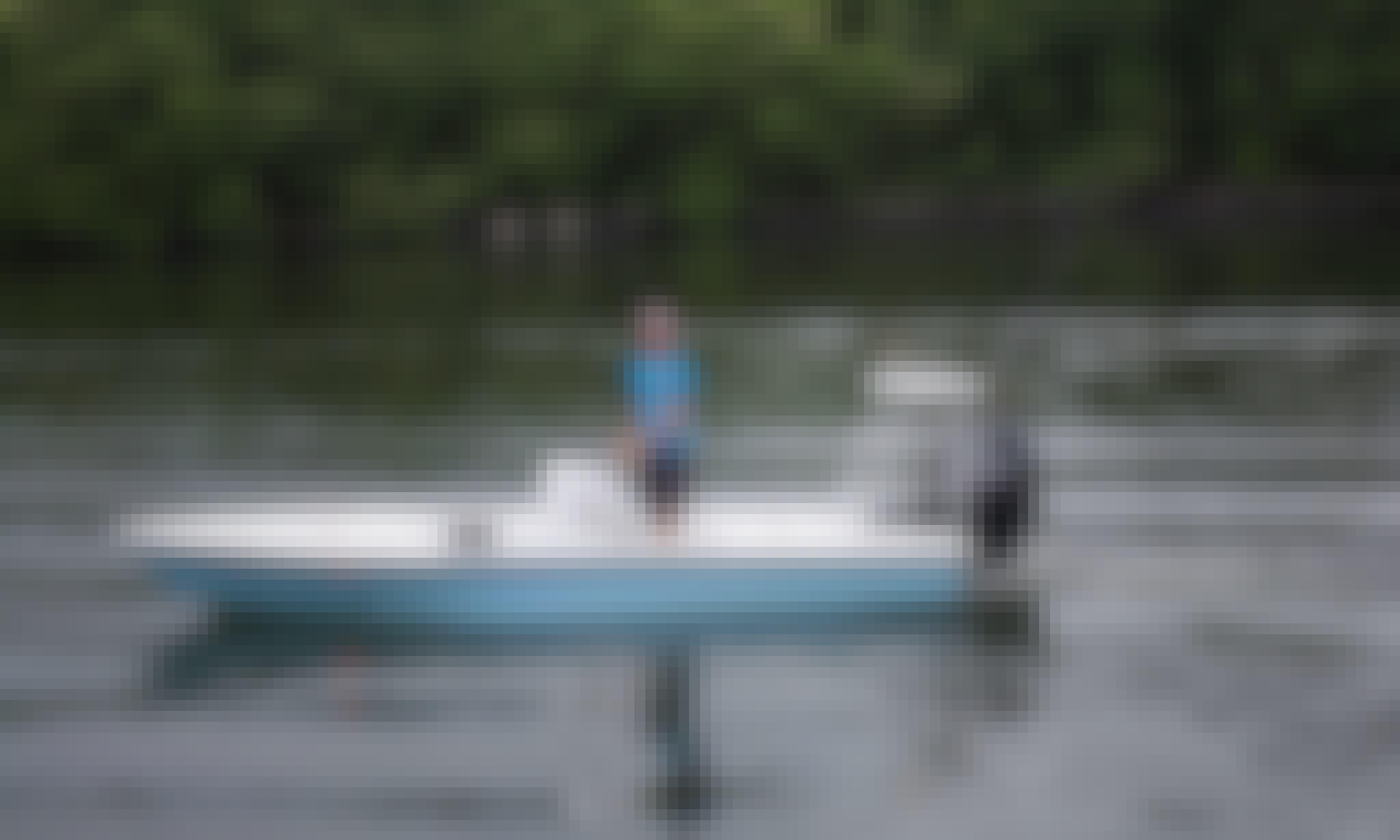 Enjoy 19 ft Bay Boat Tarpon Fishing Charter in San Juan, Puerto Rico