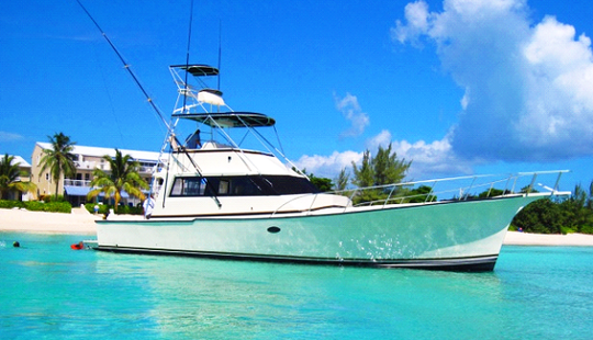 60' Sport Fishing Charter In Cayman Islands