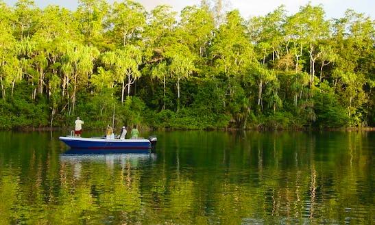 Fun Freshwater Fishing Trip For 4 Nights In Papua New Guinea