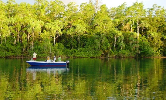 Fun Freshwater Fishing Trip For 4 Nights In Papua New Guinea