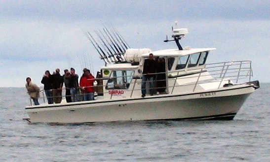 36' Sport Fisherman Charter In Seward, Alaska