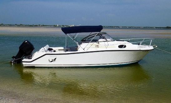 Rent 24' Mako Walk-around Boat In Palm Harbor, Florida