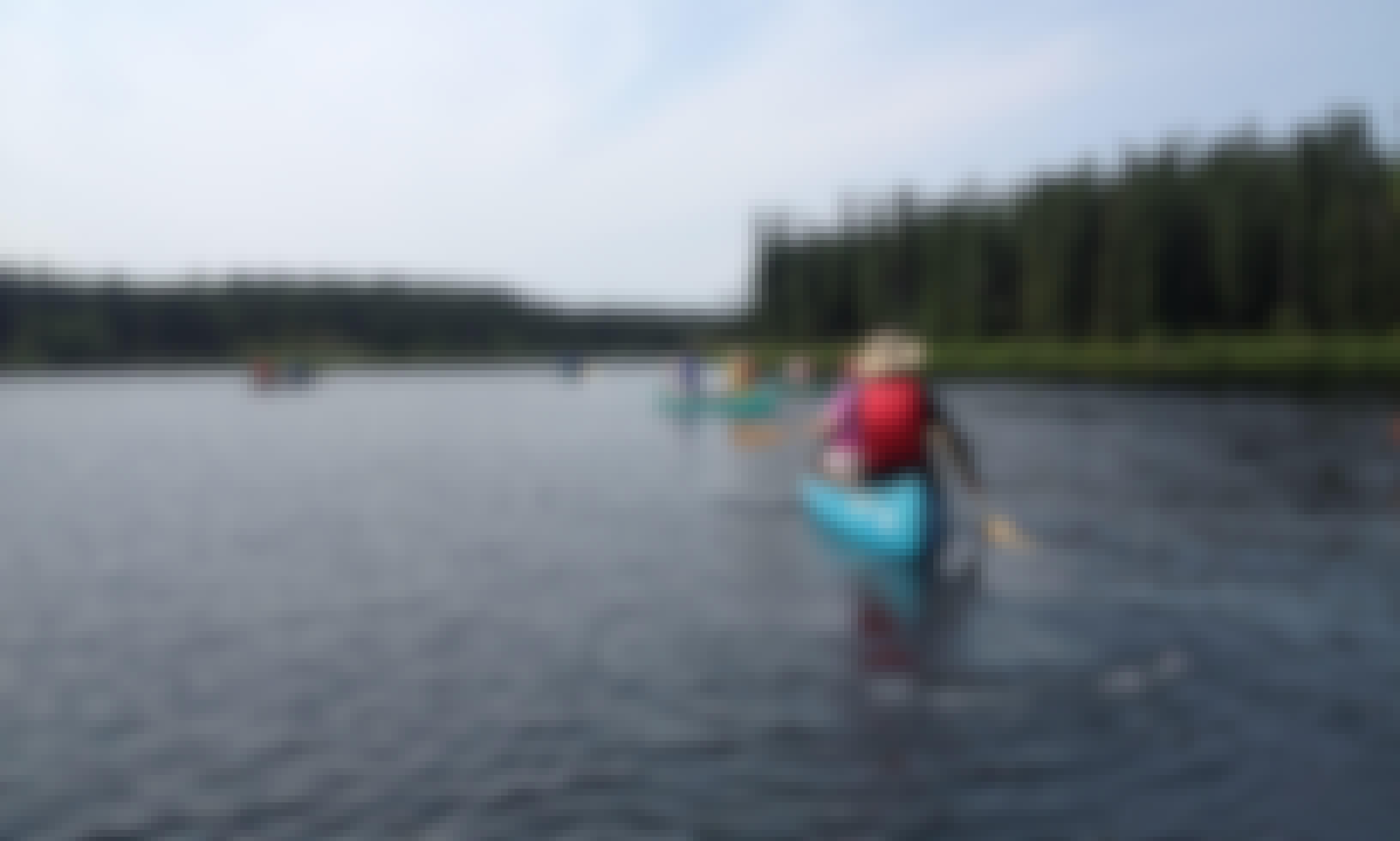 Guided Canoe Day Adventure Within The Kenai Wildlife Refuge