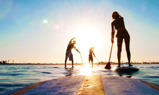 Stand Up Paddleboard Rental In La Jolla