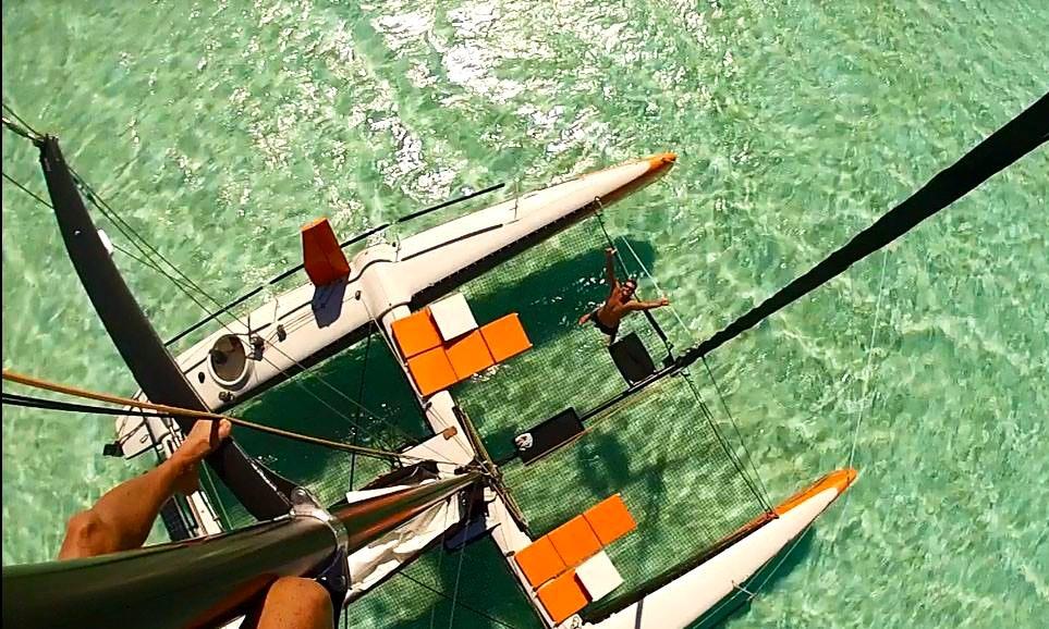 U0026 39 Vitamin Sea U0026 39  Sailing Catamaran Charter In Bora Bora