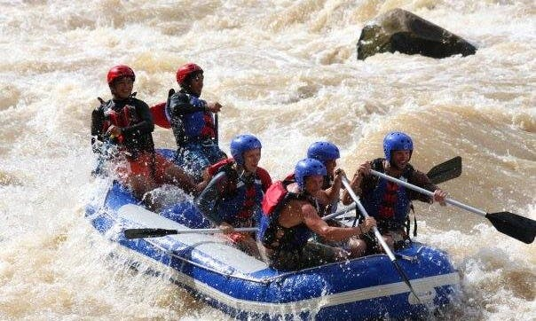 White Water Rafting In Kota Kinabalu