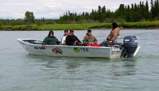 Salmon Fishing And Lodging In Soldotna, Alaska