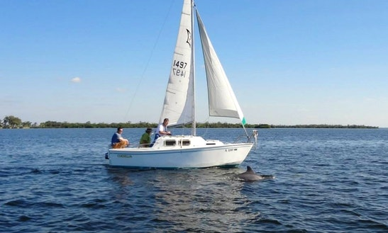 Enjoy Bokeelia, Florida On 19ft 'cornelia' Boat Sailing Boat