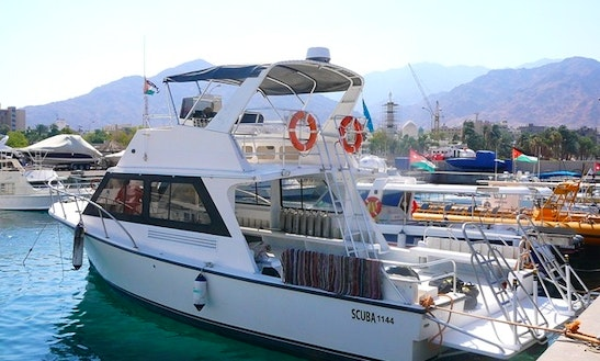 Passenger Boat Diving Trips In Aqaba, Jordan