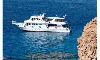 Dive Boat In Egypt