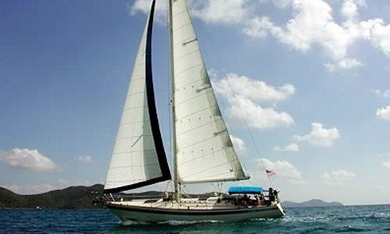 40' Cruising Monohull Rental & Trips In Cruz Bay, U.s. Virgin Islands