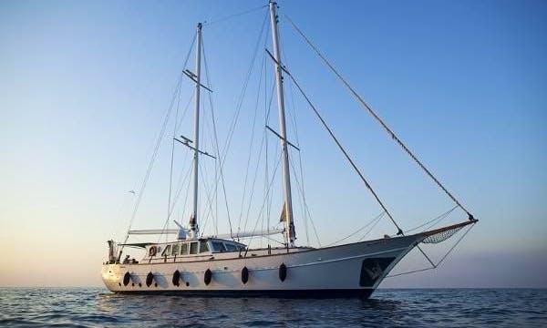 89' Sailing Yacht In Agios Athanasios