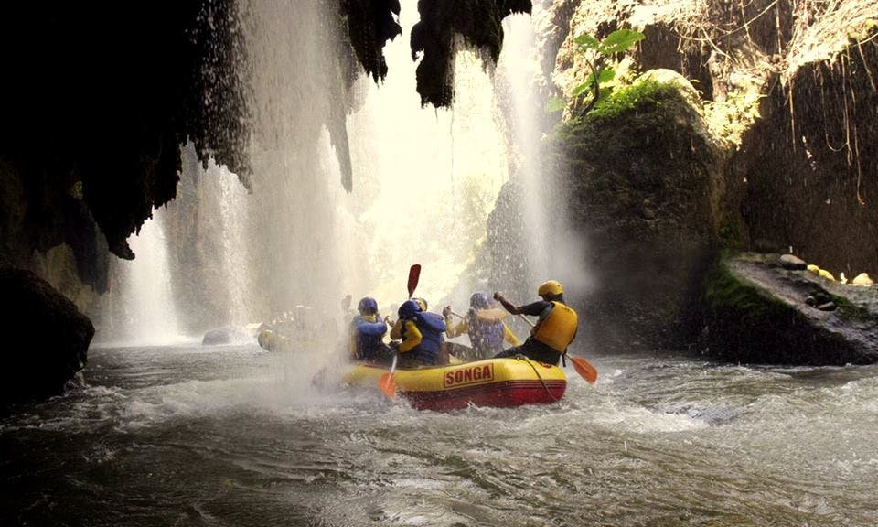 White Water Rafting In Indonesia