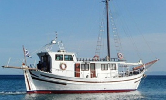 Trawler Diving Trips In Evia, Greece