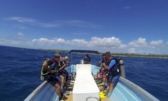 Passenger Boat Diving Trips In Speyside, Tobago