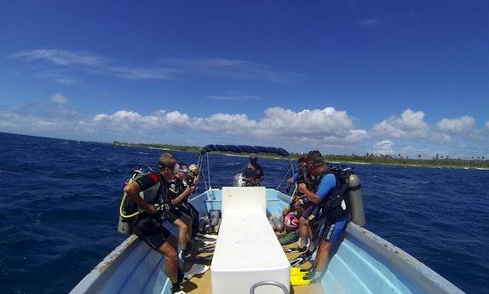 Passenger Boat Diving Trips In Speyside, Tobago