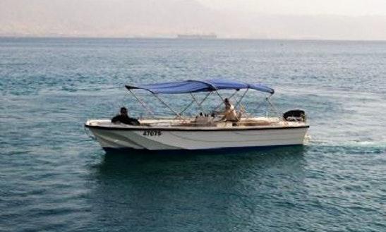 23' Boston Speedboat Charter In Eilat