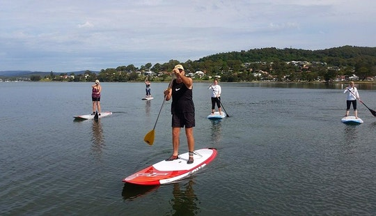 Stand Up Paddleboard Hire And Lessons In Warners Bay