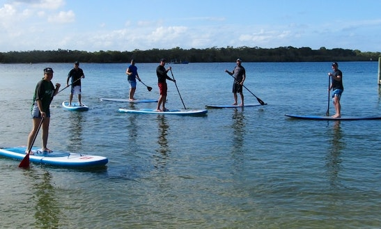 Stand Up Paddleboard Hire & Classes In Noosaville