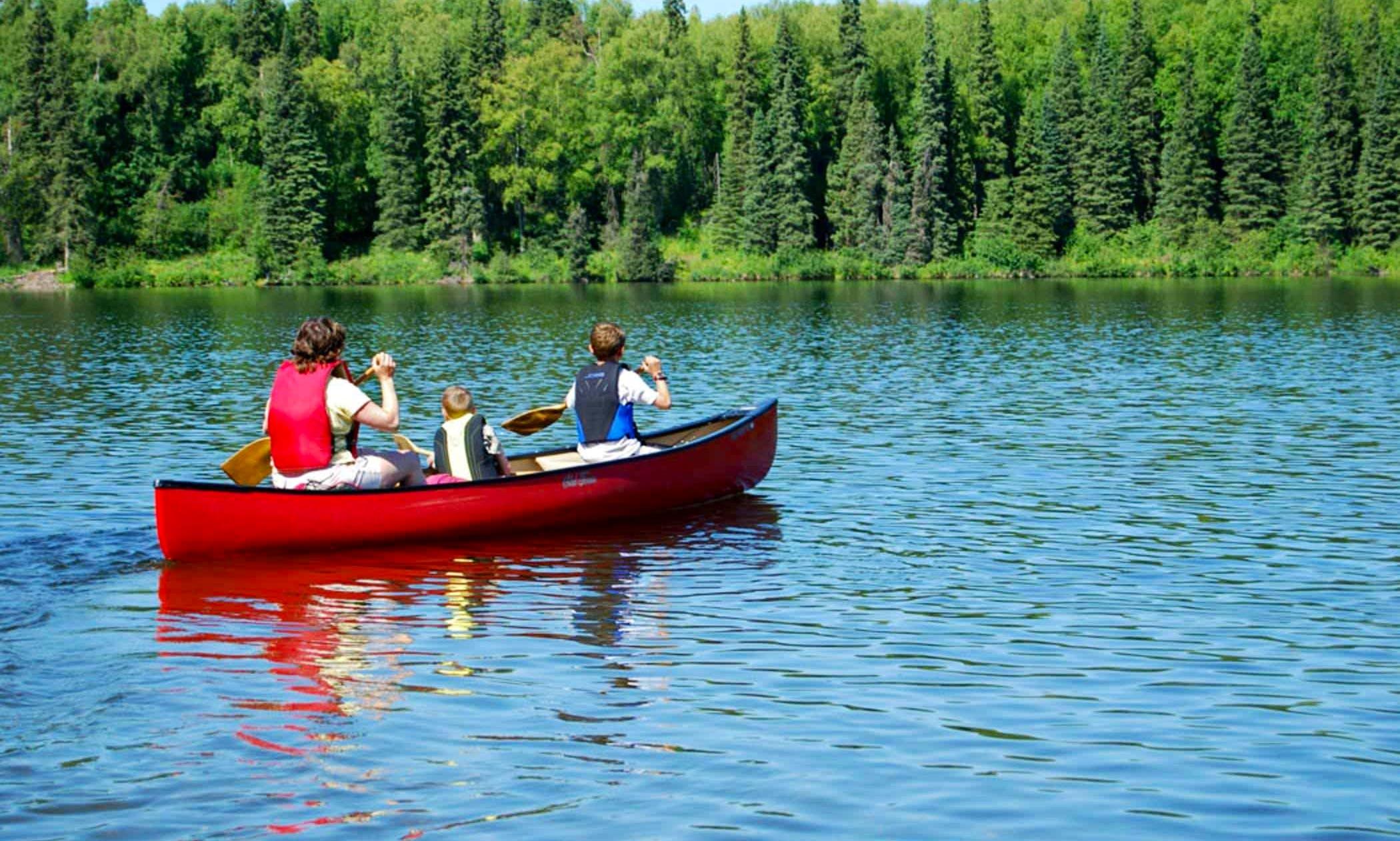 Canoe Rental in Eureka