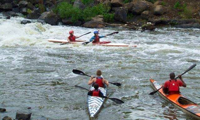 Learn to Canoe Program In Roodepoort