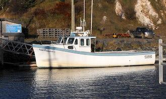 40' Trawler Charter in Nova Scotia, Canada