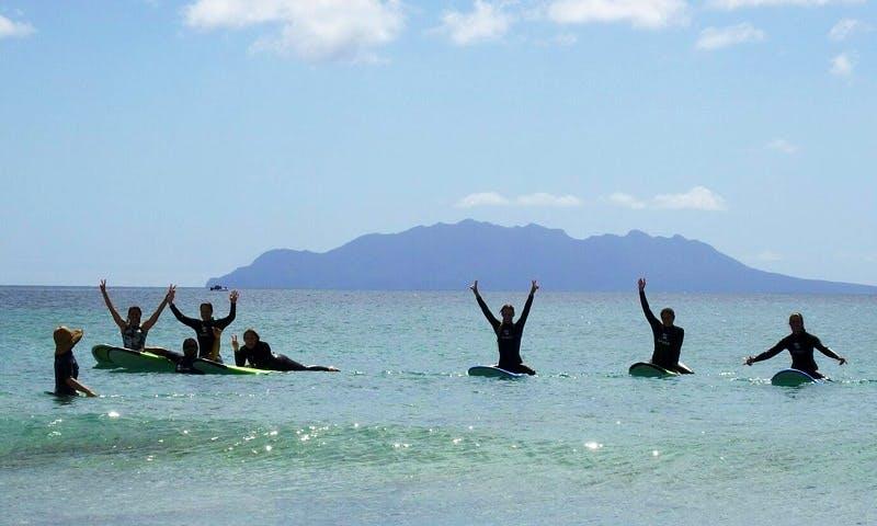 Surfing and Snorkeling Adventure In Tawharanui Peninsula