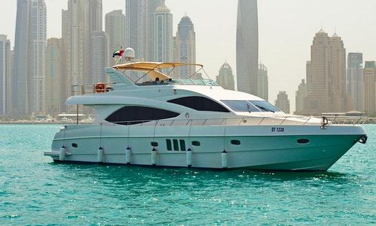 77ft Power Mega Yacht Cruise In Dubai, Dubai