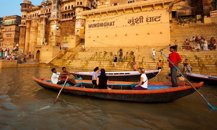 Row Boat in Varanasi