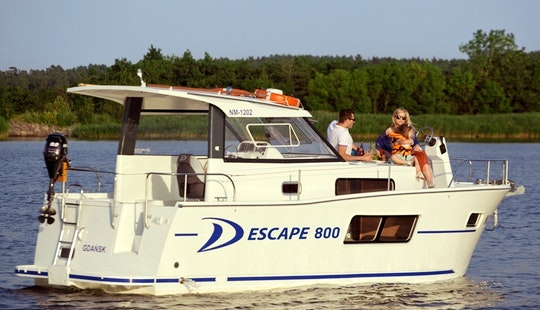 Delphia Escape 800 Motor Yacht Rental & Charter In Zagreb, Croatia