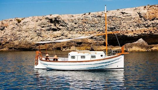 Llaut 36 Motor Yacht Charter In Maó-mahón, Spain