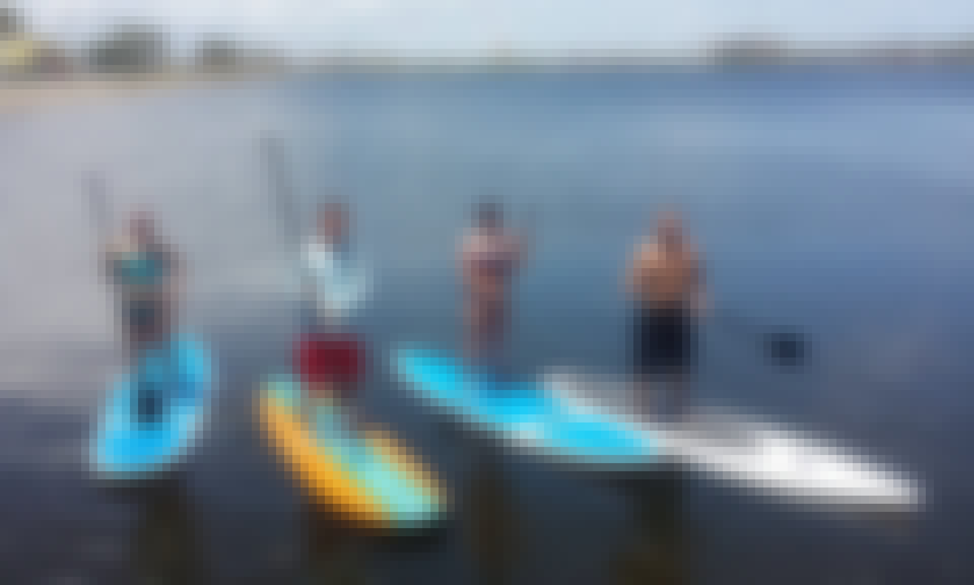 Stand  Up Paddleboard Rental & Lessons in Jamaica Beach