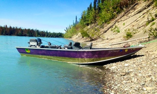17' Bass Boat Rental In Kenai, Alaska