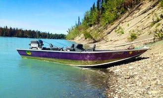 17' Bass Boat Rental in Kenai, Alaska