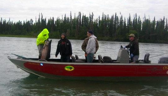 24' Bass Boat Rental In Kenai, Alaska