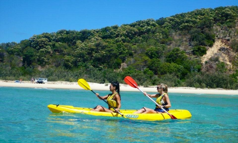 kayak rental amp tours in rainbow beach australia getmyboat