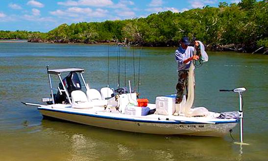 18' Fishing Charter In Ochopee