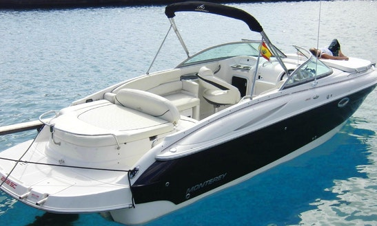 'cucumber' Monterey 268 Sc Boat Rental In Ibiza