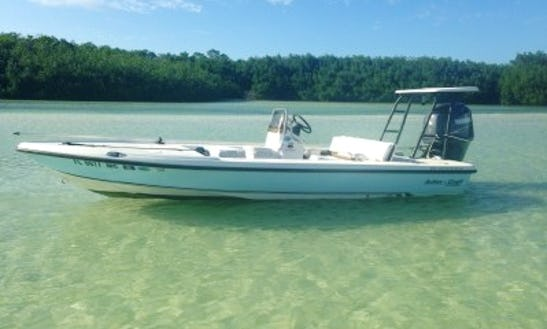 17' Action Craft Fishing Boat With Captain Robert In Big Pine Key, Florida