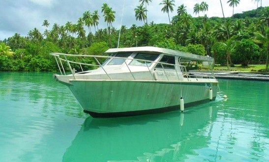 Discover Fiji's Famous Dive Sites Aboard A 36' Purpose Built Aluminum Dive Boat!