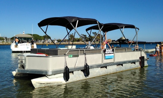 Enjoy Dana Point, California On 25' Luxury Pontoon